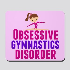 Gymnastics Obsessed Mousepad