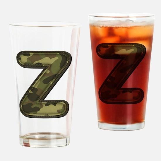 Z Army Drinking Glass
