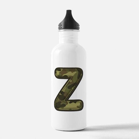 Z Army Water Bottle