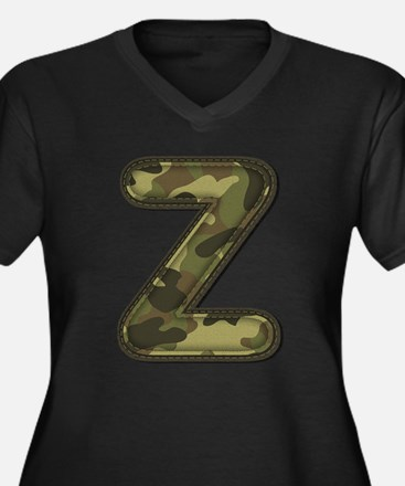 Z Army Plus Size T-Shirt