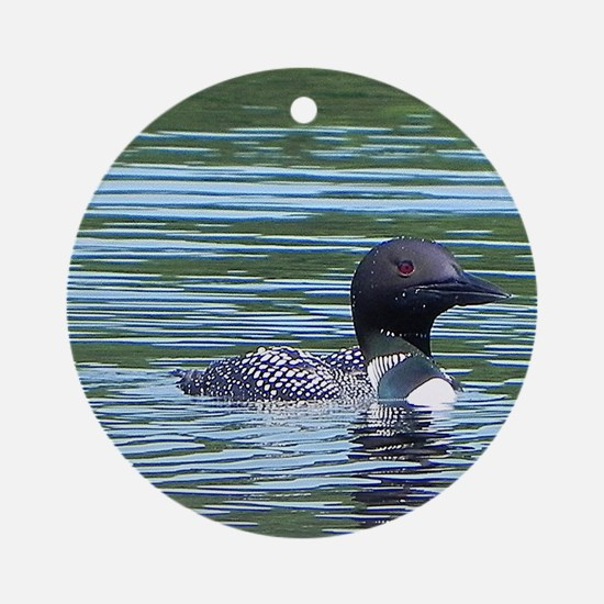 Wet Loon Ornament (Round)