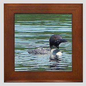 Wet Loon Framed Tile