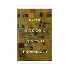 Faith Guidence Success Prosperity Decal