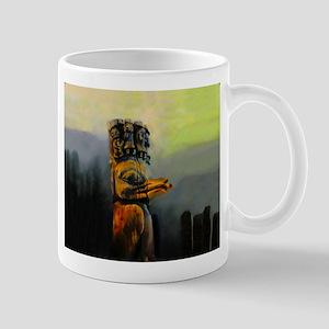 Raven Totem Pole Mug