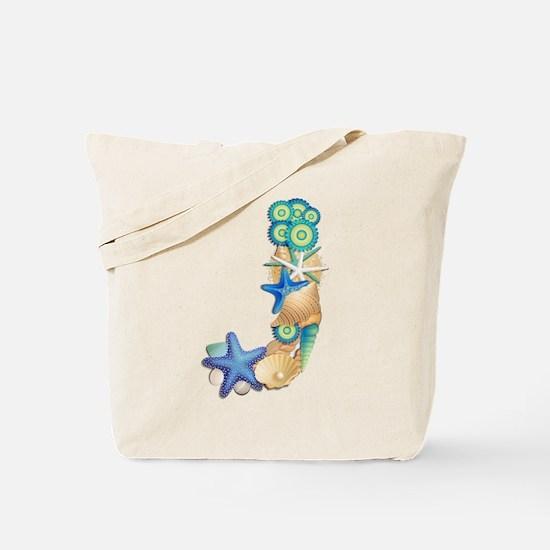 J Tote Bag