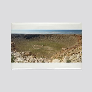 Meteor Crater, AZ Rectangle Magnet