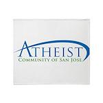 acsj_logo Throw Blanket