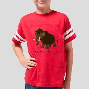 natural mammoth Youth Football Shirt