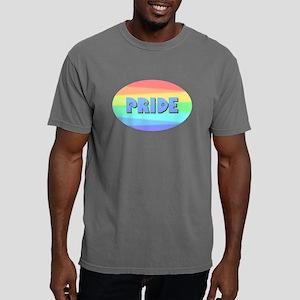 Gay Pride Rainbow Mens Comfort Colors Shirt