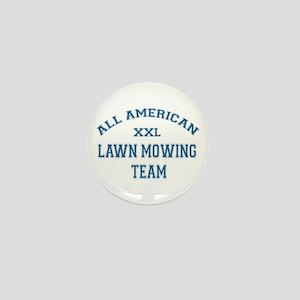 AA Lawn Mowing Team Mini Button