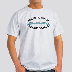 Atlantic Beach NC - Map Design T-Shirt