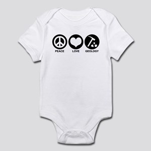 Peace Love Geology Infant Bodysuit