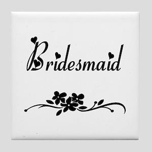 Classic Bridesmaids Tile Coaster