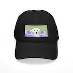 Labrador Retriever Puppy Black Cap with Patch