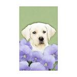 Labrador Retriever Puppy Sticker (Rectangle 50 pk)