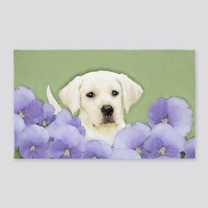 Labrador Retriever Puppy Area Rug
