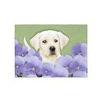 Labrador Retriever Puppy 5'x7'Area Rug