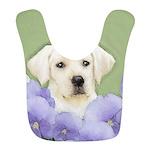 Labrador Retriever Puppy Polyester Baby Bib