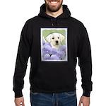 Labrador Retriever Puppy Hoodie (dark)