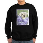 Labrador Retriever Puppy Sweatshirt (dark)