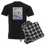 Labrador Retriever Puppy Men's Dark Pajamas