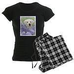 Labrador Retriever Puppy Women's Dark Pajamas