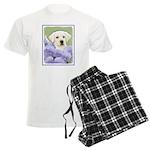 Labrador Retriever Puppy Men's Light Pajamas