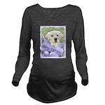 Labrador Retriever P Long Sleeve Maternity T-Shirt
