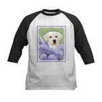 Labrador Retriever Puppy Kids Baseball Tee