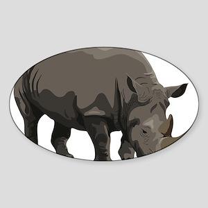 Classic Rhino Sticker