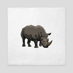 Classic Rhino Queen Duvet