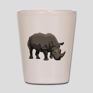 Classic Rhino Shot Glass