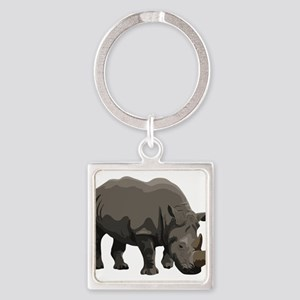 Classic Rhino Keychains