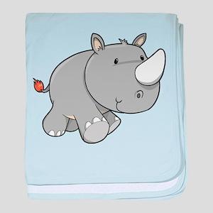 Baby Rhino baby blanket