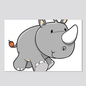 Baby Rhino Postcards (Package of 8)