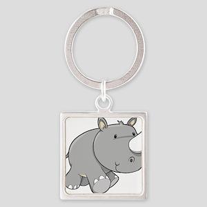 Baby Rhino Keychains