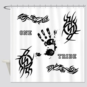 One Tribe Shower Curtain