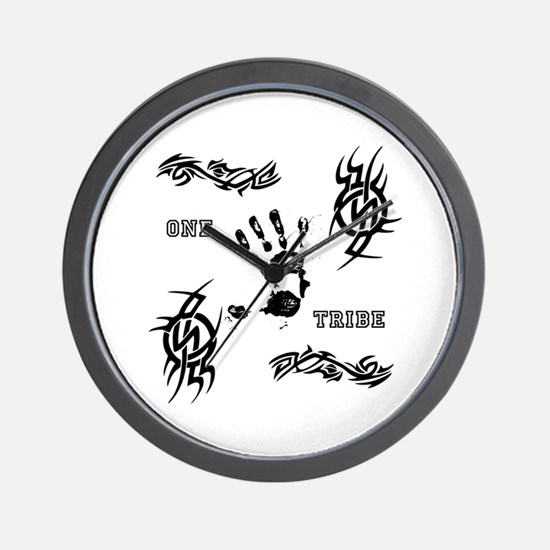 One Tribe Wall Clock