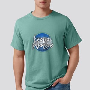 Beach Please Mens Comfort Colors Shirt