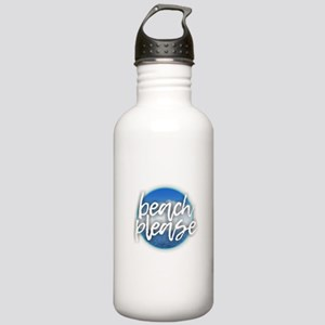 Beach Please Stainless Water Bottle 1.0L