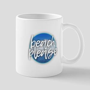 Beach Please Mugs