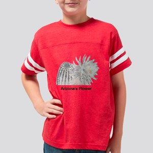 Arizonas Flower design Youth Football Shirt