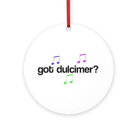 Got Dulcimer? Ornament (Round)