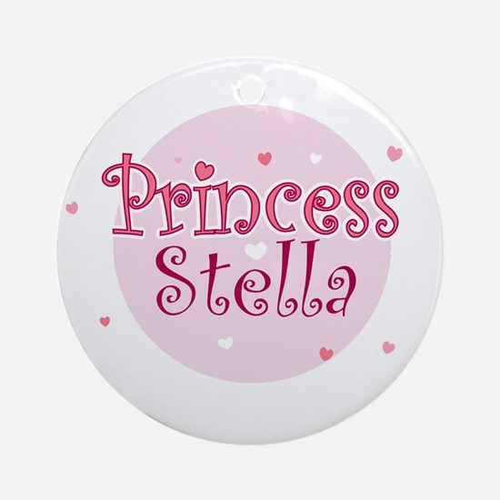 Stella Ornament (Round)