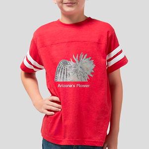 Arizonas Flower design 2 Youth Football Shirt