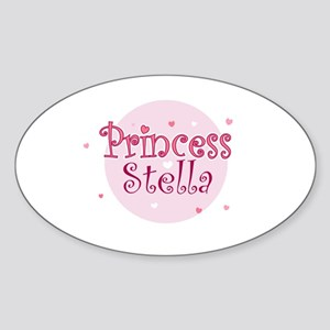 Stella Oval Sticker