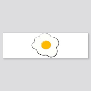 Fried Egg Bumper Sticker