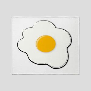 Fried Egg Throw Blanket