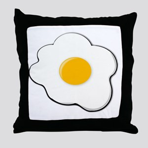 Fried Egg Throw Pillow