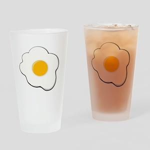 Fried Egg Drinking Glass